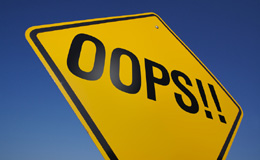 mistake 10 GRANDES Errores en el Diseño de Tiendas